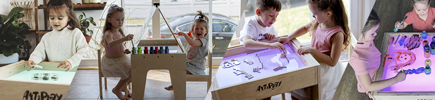 Art Light Activity Tables