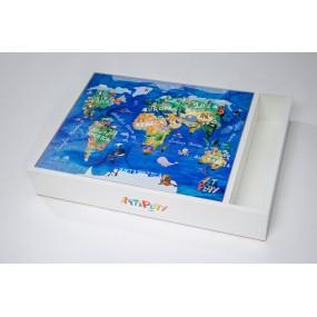 World Map Playboard
