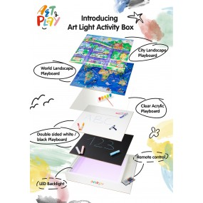 Art Light Activity Box (Full Set: 5-in-1)