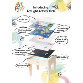 Art Light Activity Table (Full Set: 5-in-1)